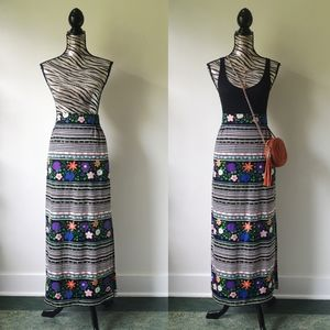 True 1970's vintage maxi skirt